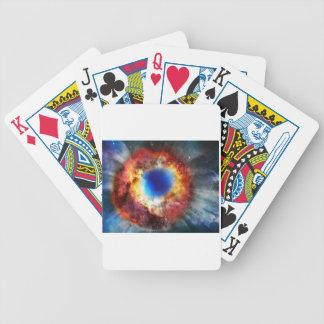 Helix Nebula Bicycle Playing Cards