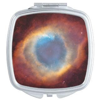 Helix Nebula by Hubble Compact Mirror