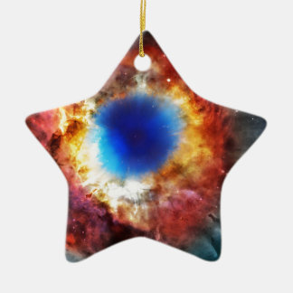 Helix Nebula Ceramic Ornament