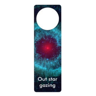 Helix Nebula in space Door Hanger
