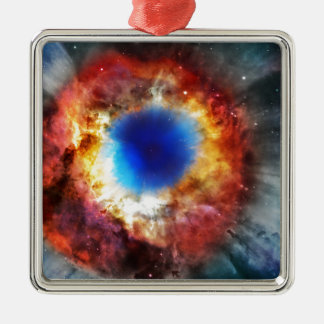 Helix Nebula Metal Ornament
