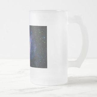 Helix Nebula Glass Beer Mugs