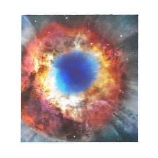 Helix Nebula Notepad