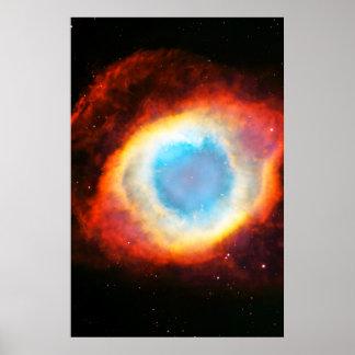 Helix Nebula Poster