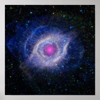 Helix Nebula | Poster Print