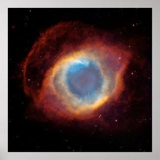 Helix Nebula [Print] Poster