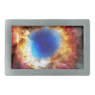 Helix Nebula Rectangular Belt Buckle
