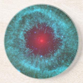 Helix Nebula Sandstone Coaster