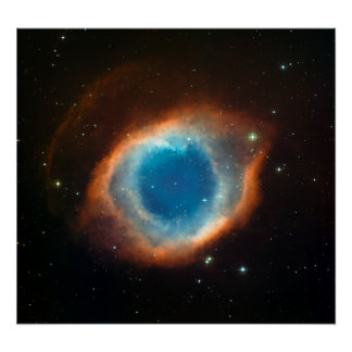 Helix Nebula Space Astronomy Print