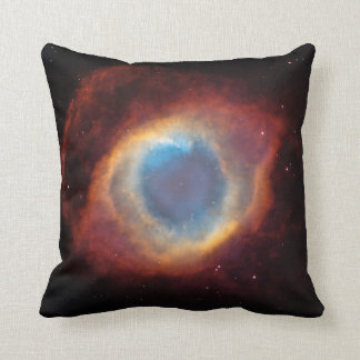 Helix Nebula Space Photo Cushion