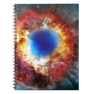 Helix Nebula Spiral Notebook