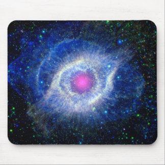 Helix Nebula Ultraviolet Mouse Pads