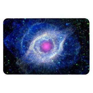 Helix Nebula Ultraviolet Rectangular Photo Magnet