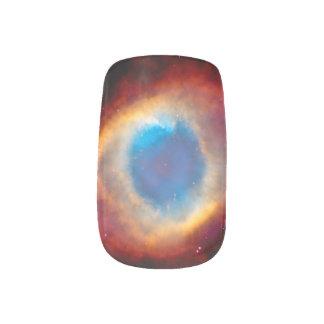 Helix Planetary Nebula NGC 7293 - Eye of God Minx Nail Art