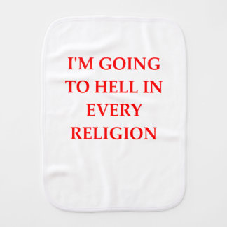 HELL BURP CLOTH