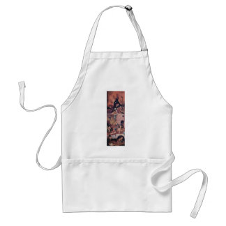 Hell.,  By Hieronymus Bosch (Best Quality) Apron