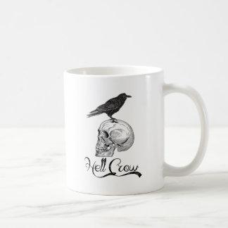 Hell Crow Halloween Coffee Mug