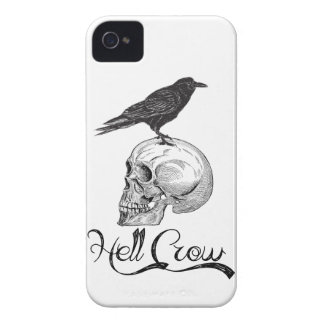 Hell Crow Halloween iPhone 4 Cover