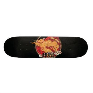 Hell deck 21.6 cm old school skateboard deck