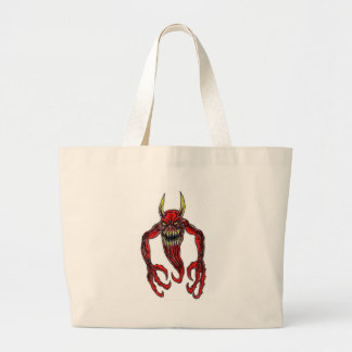 Hell Demon Art Large Tote Bag