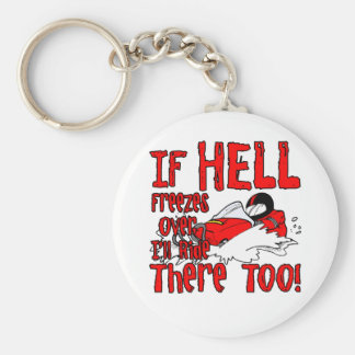 Hell Freezes Over Key Ring