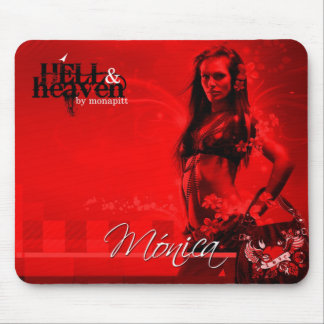 Hell&Heaven Mónica Mouse Pad