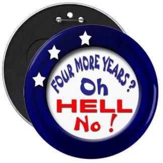 Hell No 6 Cm Round Badge