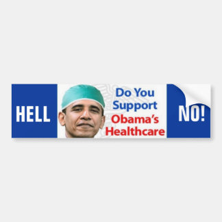 Hell NO! Bumper Stickers