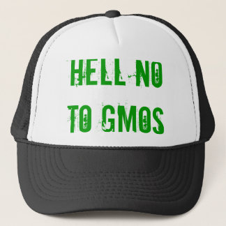 Hell No to GMOs hat