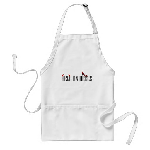 Hell On Heels Aprons