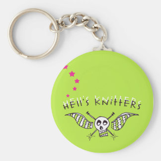 Hell s Knitters keychain