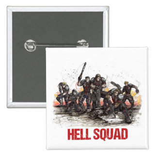 Hell Squad Button