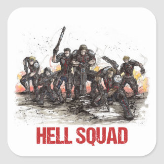 Hell Squad Sticker