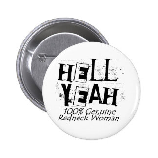 Hell Yeah 6 Cm Round Badge