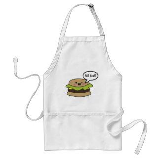 Hell Yeah Burger Standard Apron