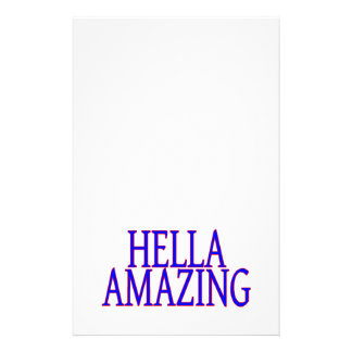 Hella Amazing California Style Stationery