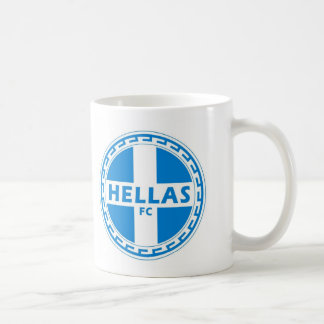 Hellas Gear Greek Gifts by greek2me Basic White Mug