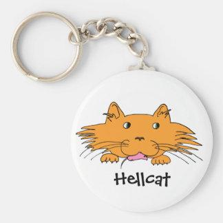 Hellcat Keychain