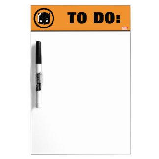 Hellcat Logo Dry Erase Board