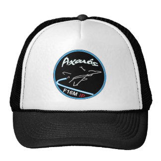 HELLENIC AIRFORCE F-16 335 SQN SWIRL NEW PATCH TRUCKER HATS