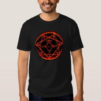 Hellfire Demon Trap Occult Symbol Tee