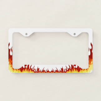 Hellfire Licence Plate Frame