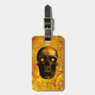 Hellfire Luggage Tag