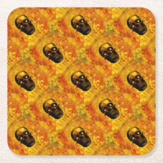 Hellfire Square Paper Coaster