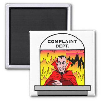 Hellish Customer Service Magnet