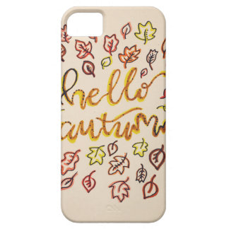 Hello Autumn Barely There iPhone 5 Case