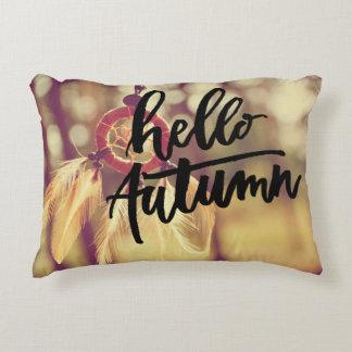 Hello Autumn Decorative Cushion