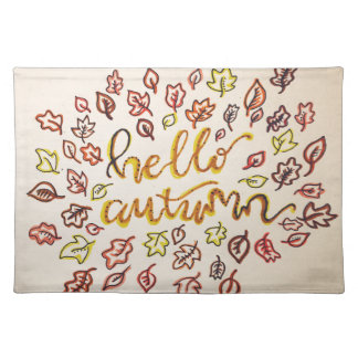 Hello Autumn Placemat