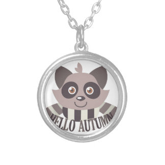 Hello Autumn Silver Plated Necklace