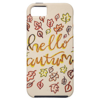 Hello Autumn Tough iPhone 5 Case